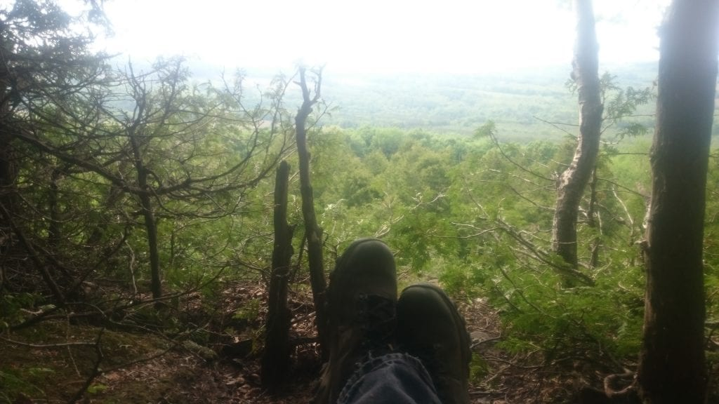 Chilling on the Bruce Trail