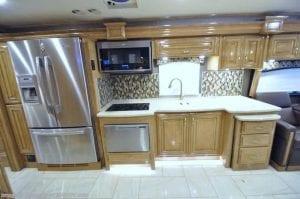 Modern RV Kitchen Dishwasher