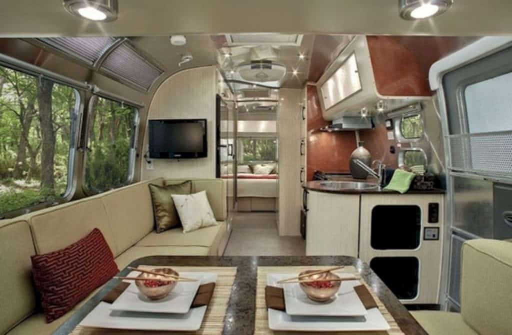 Modern RV Kitchen