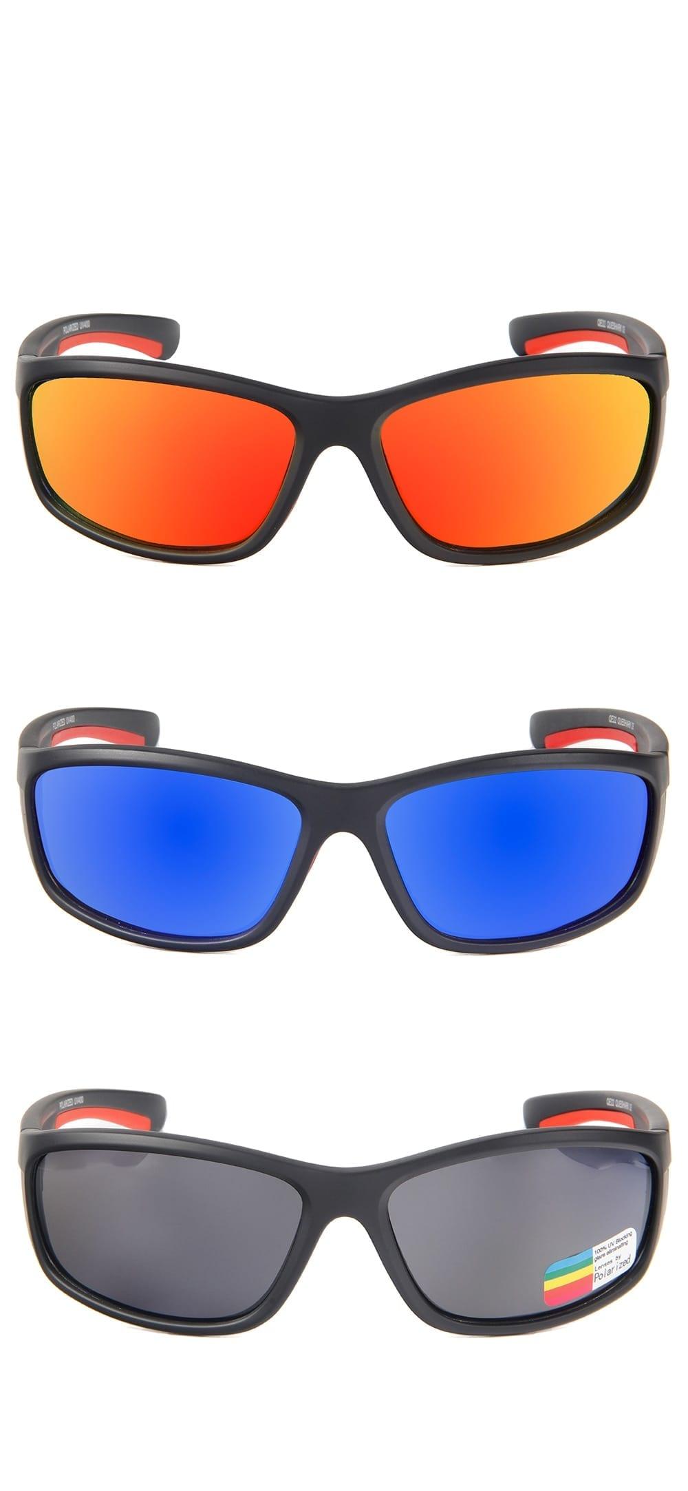 Men's Polarized Fishing Sunglasses with Case