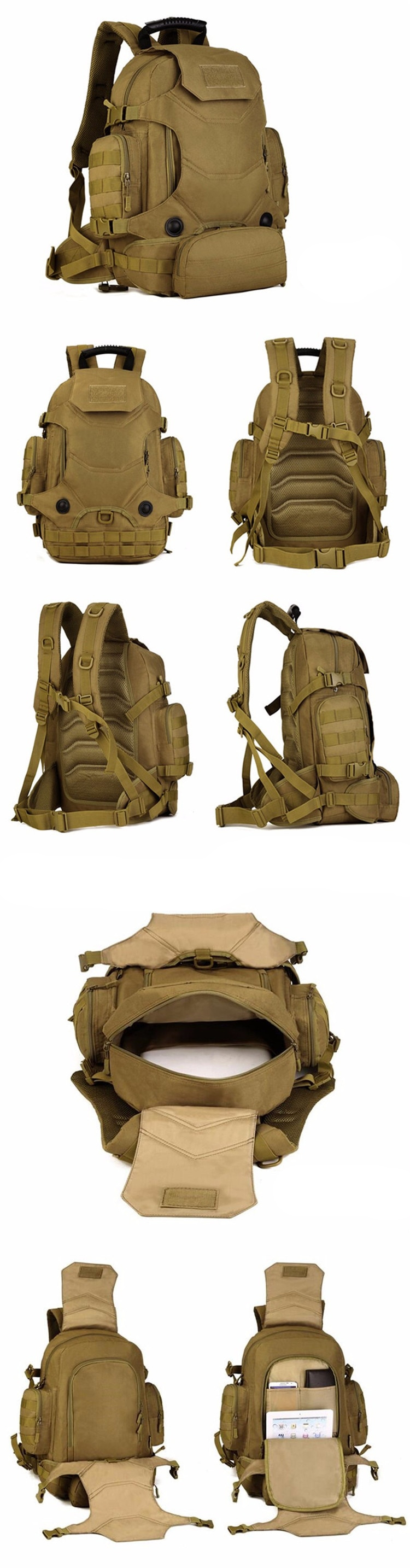 Outdoor Military Backpacks for Mountaineering