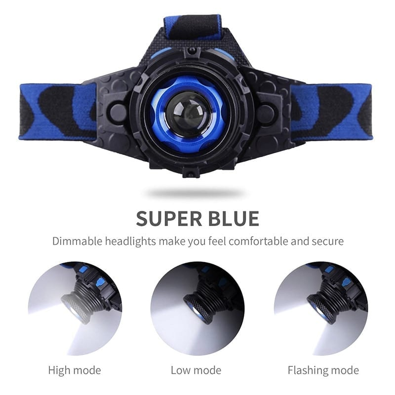 Waterproof High Brightness LED Headlamp for Night Fishing