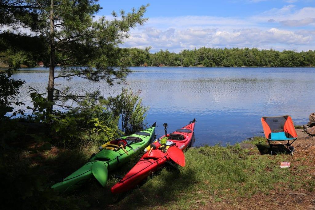 Kayaking in the Massassauga Park