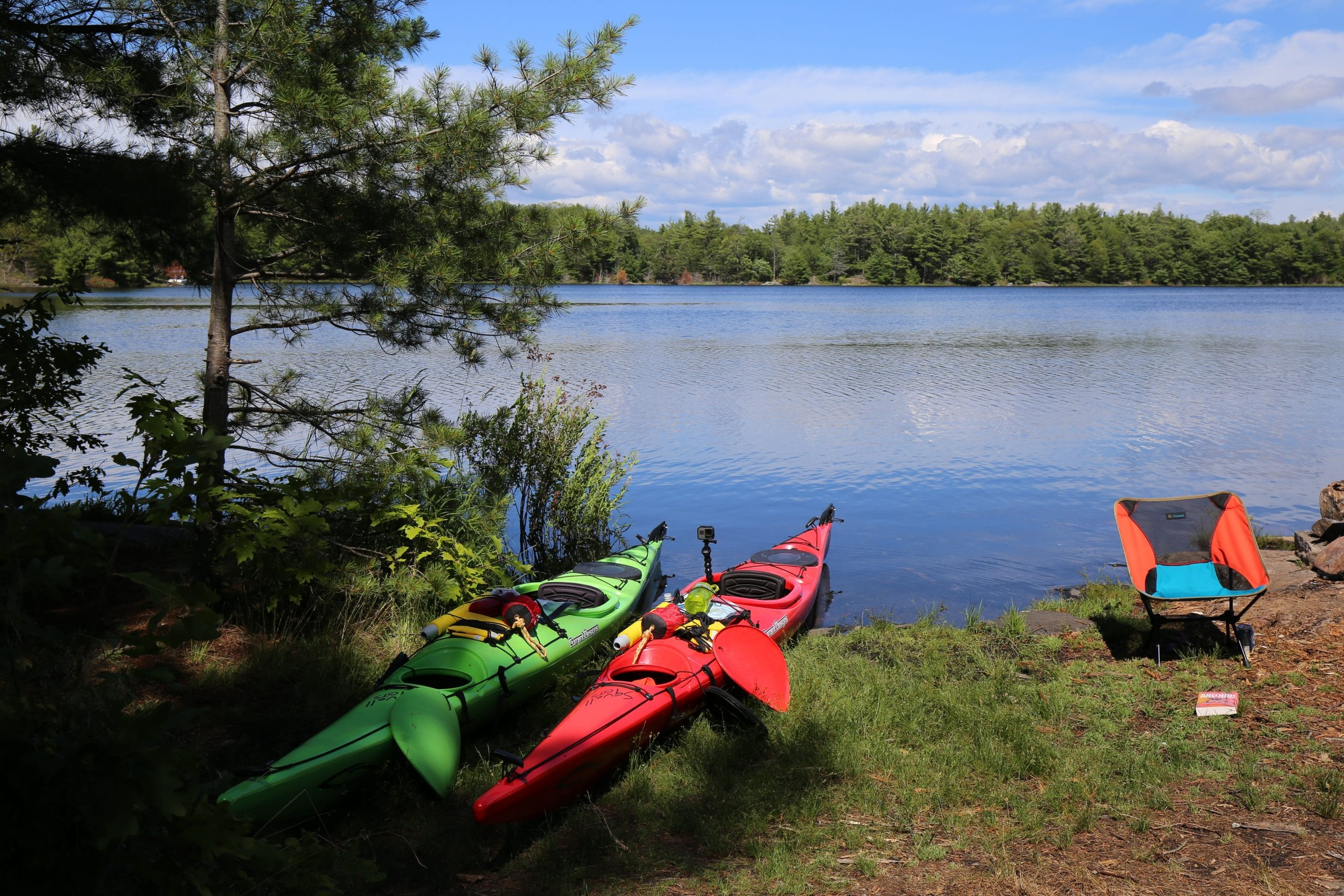 Kayaking in the Massasauga Park
