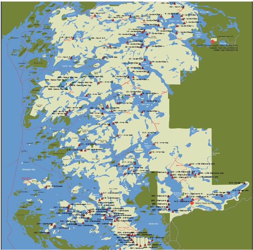 Massassauga Park Map