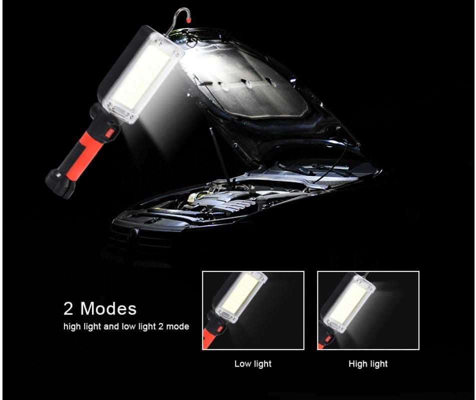 8000LM Portable Rechargeable LED Light